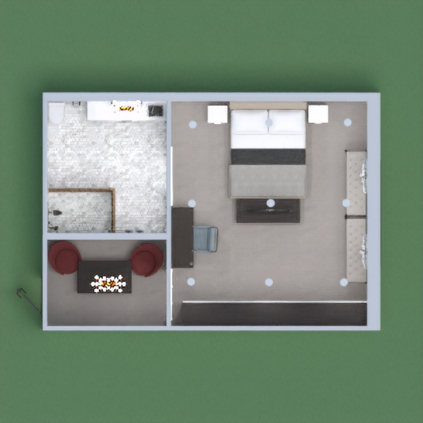 this is a creative 1 bed hotel room please vote for me if you like it
