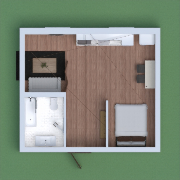 its a japanese apartment but you can freely think of it if it looks different please comment if i made some mistakes i hope my build can encourage those who are looking for ideas to build for this competition anyways its a small apartment with a bathroom, a bed' i put some scaffoldings for the japanese style and bonsai and lower table a small kitchen and a mini table with a cup holder its an apartment for two person i hope you like it :)