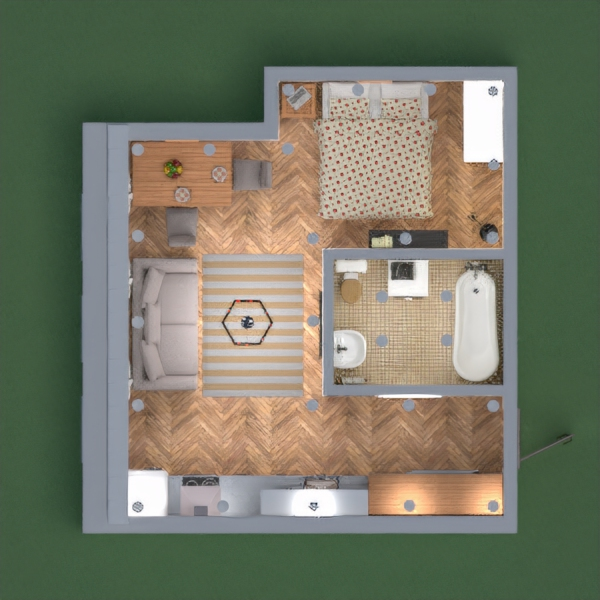 Small apartment in the old town. Please vote for me!
