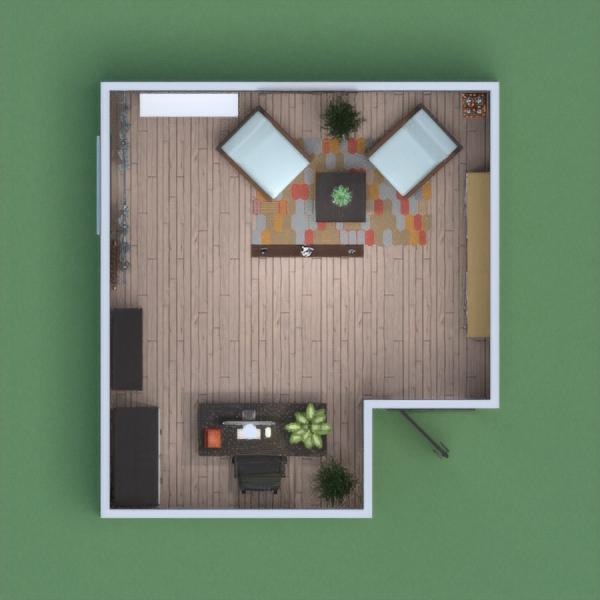 Ured je zamišljen u modernome stilu. Predviđena je crno bijela kombinacija namještaja s dodatcima šarenila.