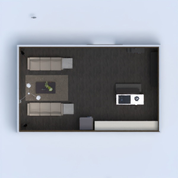 Small apartment with very nice furniture. Very simple with some basic details, I tried my best! Thank u for the support :)