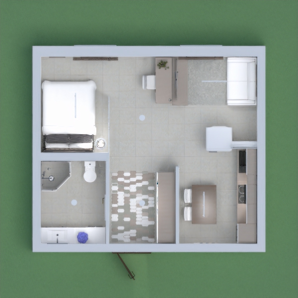 hi everyone! this is my small apartment. i tried to make it cute and matching, i hope u all like it. please vote for me and leave a comment. thank you
