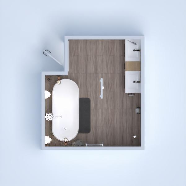Es un baño acojedor, no muy frio, una zona de relax, respecto a la bañera. Tiene diferentes tonalidades de color, material y testura. No es un baño oscuro, es bastante luminoso.
