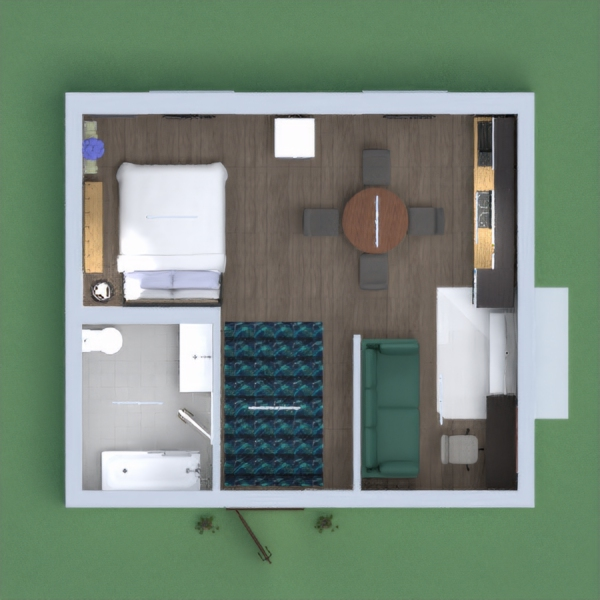 it isa small apartment it was pretty hard to make but i did the best i could plz vote for me thnx