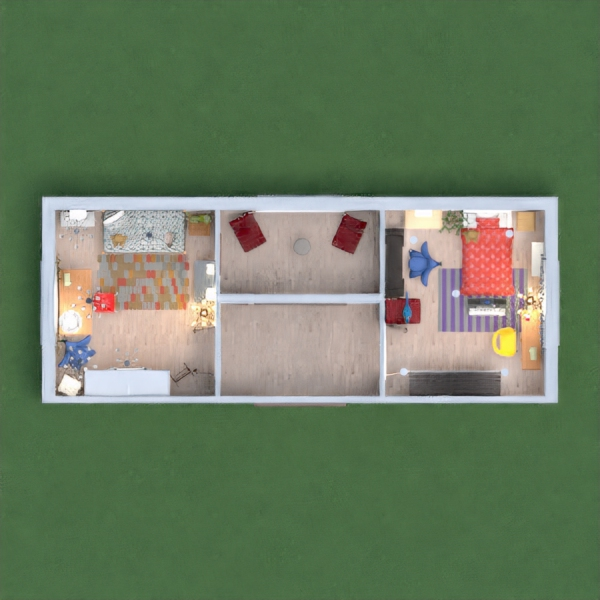this house reminds me of me and my sister and we would always have a room next to each other. and play board games and other things this house is the memory house