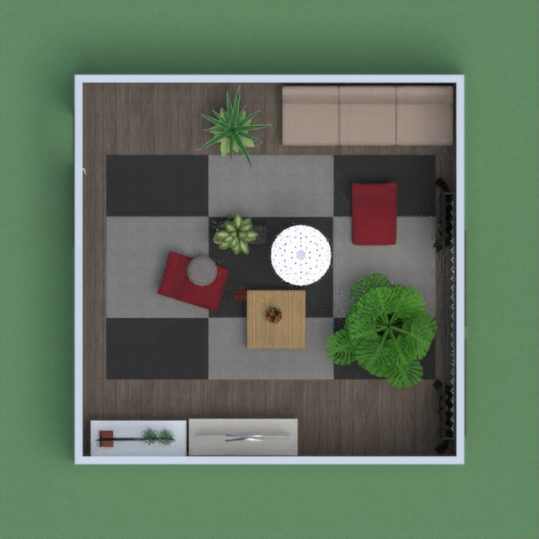 This is a plan of a Living Room.