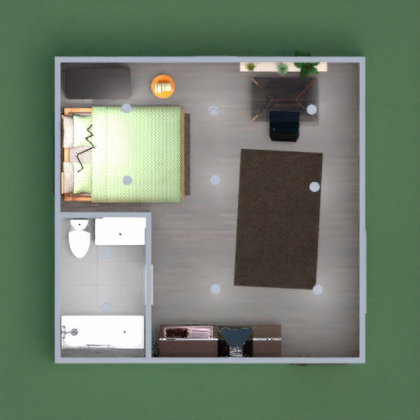 A nice modern studio for one person. Tell me in the comments if you like it!