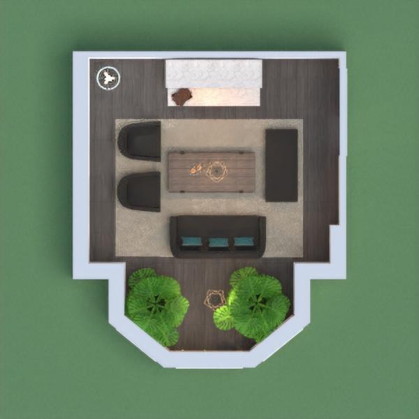 A mini living room.