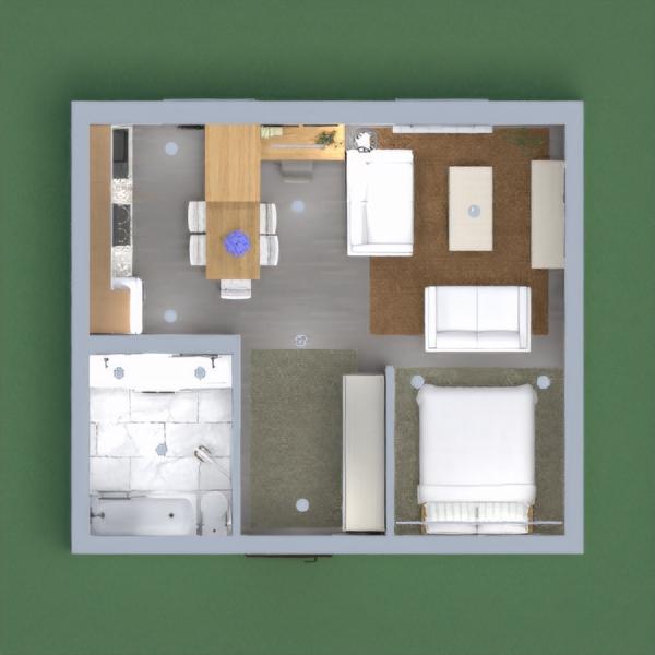 minimalist apartment,kitnet, tiny house integrated, contemporary,luxuoris and nordic , scandinavian, brazilian house