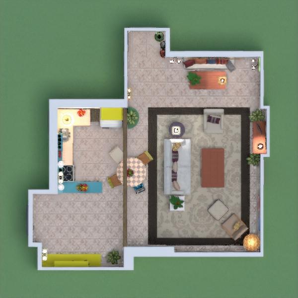 """El proyecto decía """"crea un apartamento para Mónica de friends"""", como buena fan he intentado recrear su apartamento tal y como sale en la serie, no me imagino el apartamento de Mónica con otra decoración.  Espero que os guste!!"""