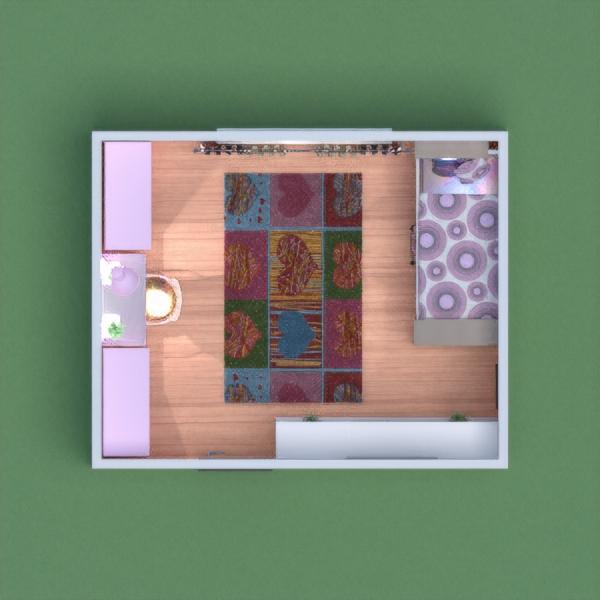 chambre de fille aux couleurs pastel