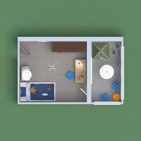 my project is a modern little home