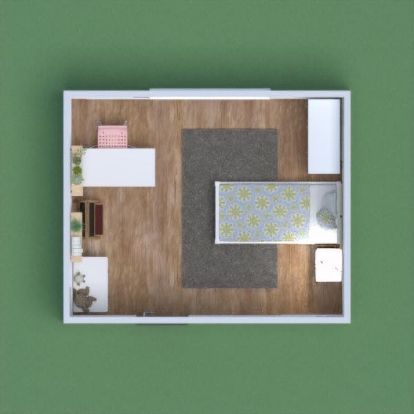 Minimalist girl room.