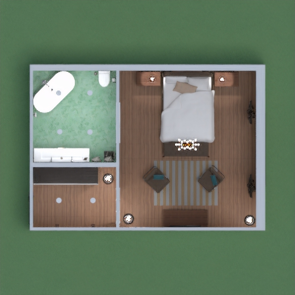 Hotel room with bathroom. Please vote for me!