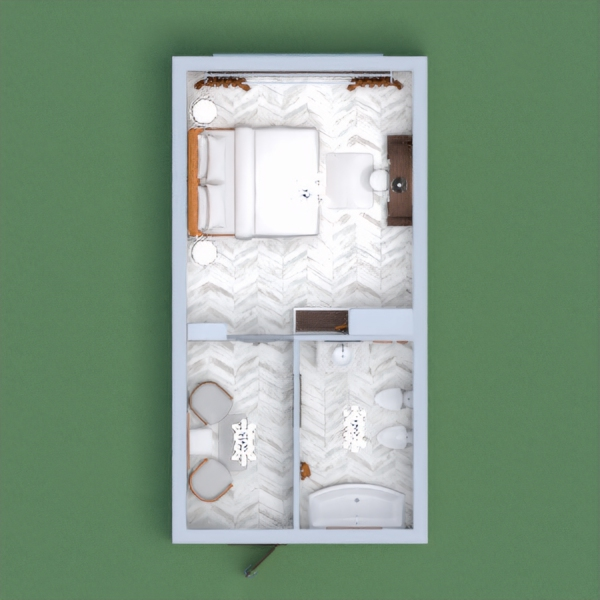 this is my luxurious white and gold bedroom and bathroom. i hope u like it pls vote for me and leave ur comment so i cld vote back