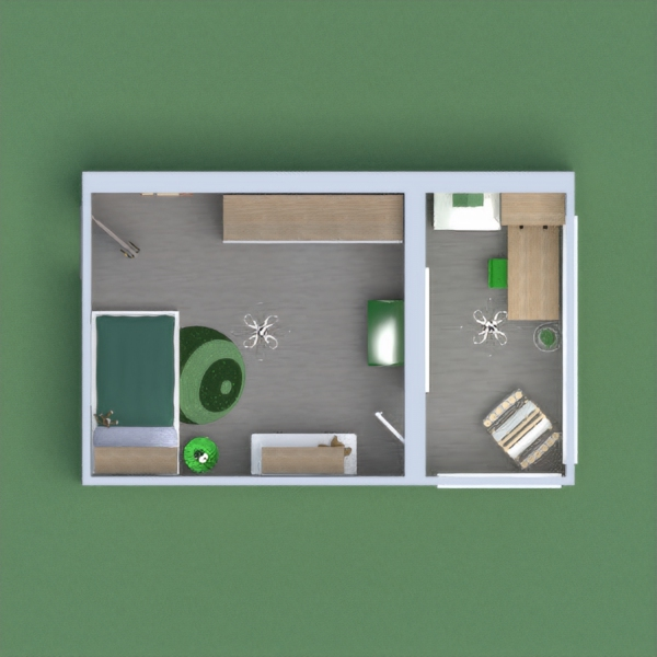 My project is designed for children between 7 and 12 years old. The main color is green and it has plenty of storage space to store books, toys and clothes. Please  give your sincere opinion to see how I can improve. Thanks
