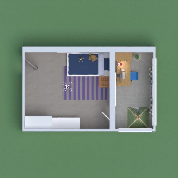 Спальня с балконом для девочки Bedroom with a balcony for a girl