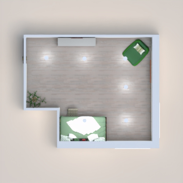 Go ahead, hate on me for not following the rules, but then, go see how I followed the rules on my first project. This is an eco room.