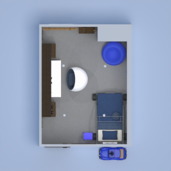 I made this room for a 5 year old boy, who likes blue. The ladders on the side of the shelving unit, are because he can't reach some of the stuff on the shelves. He has a crafting table, and 3 brains and 3 teddy bears. Please tell me what you think, and try to find anything that is a problem. Thank you! Oh, and @Miracle Doggy you have been leaving rude comments, I don't want rude comments. But I need to know when there is a problem. And I know there are @Miracale Doggy's. So yeah! Enjoy!