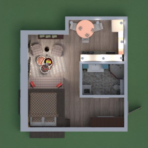 Мой проект---квартира в старом районе в позитивном настрое!))))